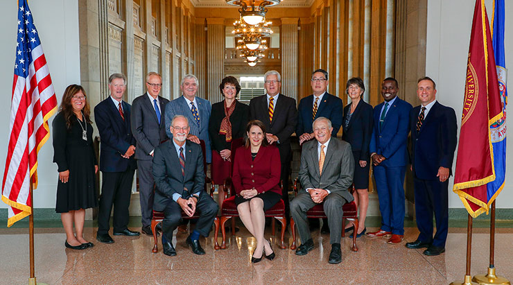 Board of Regents portrait picture
